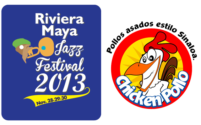 Logotipos JazzFest 2013 y Chicken Pollo